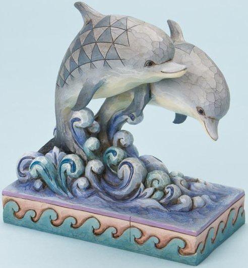 Jim Shore 4016875 Dolphins Figurine