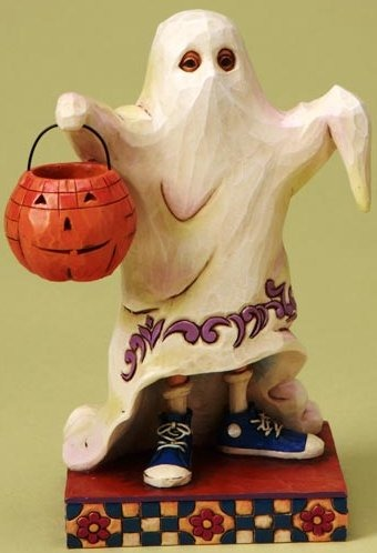 Jim Shore 4017590 Trick or Treat Smell My Feet Figurine