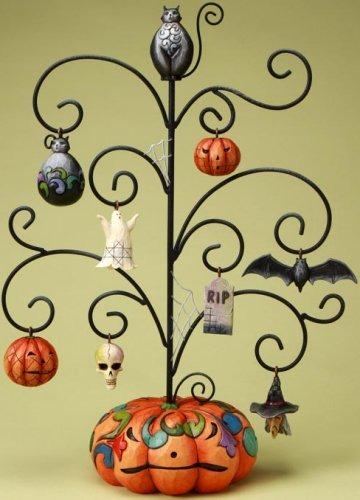 Jim Shore 4017592 Frightful w 8 Ornaments Tree