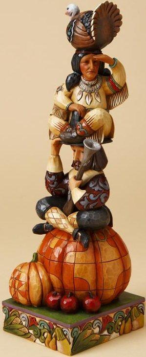 Jim Shore 4017594 Totem Americana Figurine