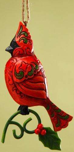 Jim Shore 4017603 Cardinal Ornament