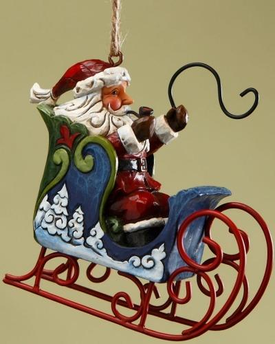 Jim Shore 4017607 Santa in Sleigh