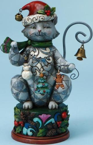 Jim Shore 4017631 Jingle Bells on Kitty's Tail