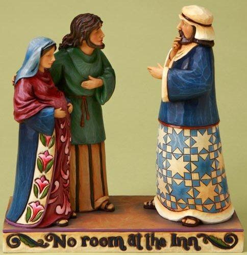 Jim Shore 4017644 No Room At The Inn Figurine