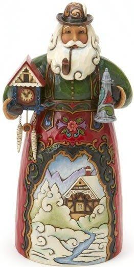 Jim Shore 4017646 German Santa Figurine
