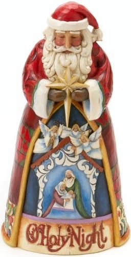 Jim Shore 4017656 Santa Nativity Scene