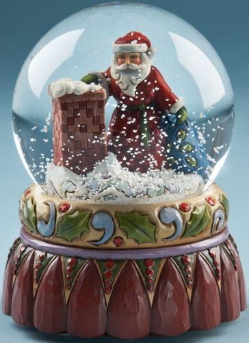 Jim Shore 4020127 Santa at Chimney