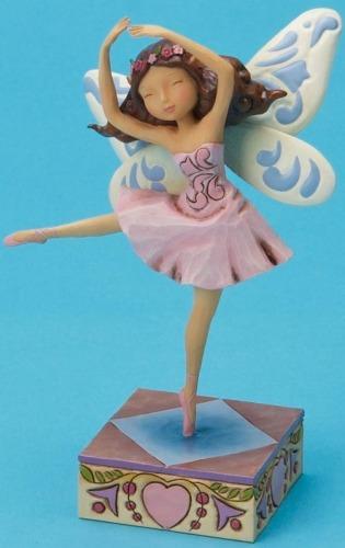 Jim Shore 4020468 Dancing Fairy Figurine