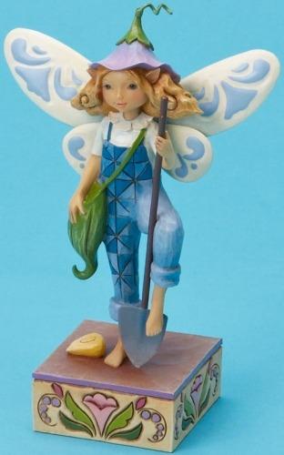 Jim Shore 4020469 Gardening Fairy Figurine