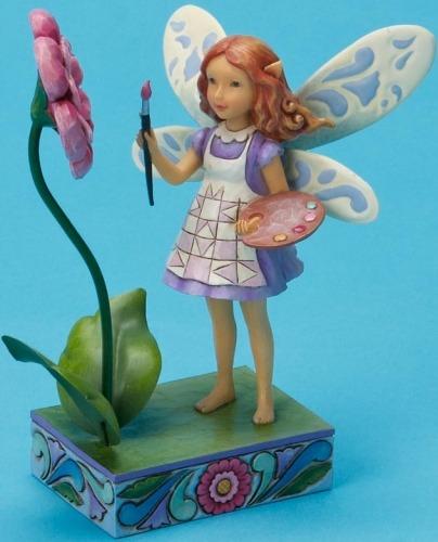 Jim Shore 4020470 Artist Fairy Figurine
