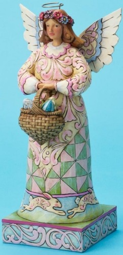 Jim Shore 4020611 In the Joyful Spirit of Easter Figurine