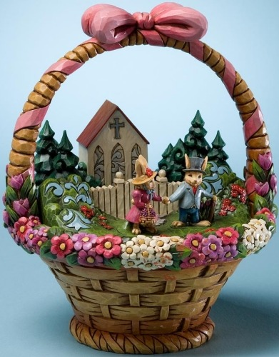 Jim Shore 4020612 Bless this Day Figurine
