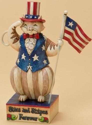 Jim Shore 4021132 Stars & Stripes Forever Figurine