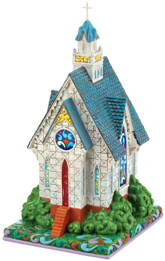 Jim Shore 4021336 Heartland Church