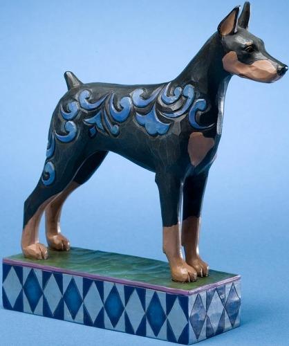 Jim Shore 4021394 Dobie Figurine