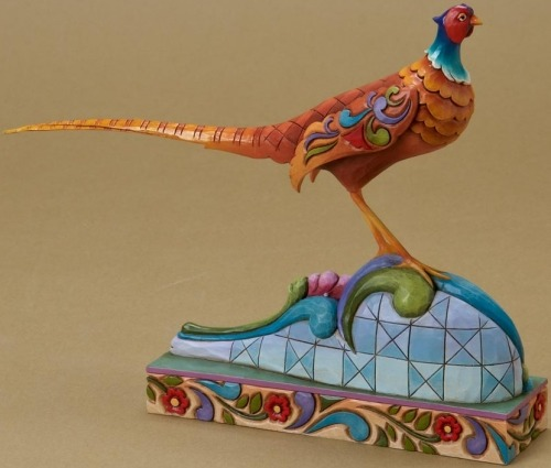 Jim Shore 4021434 Pleasant Pheasant Figurine