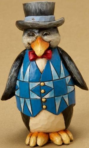 Jim Shore 4021441 Mini Penguin Figurine