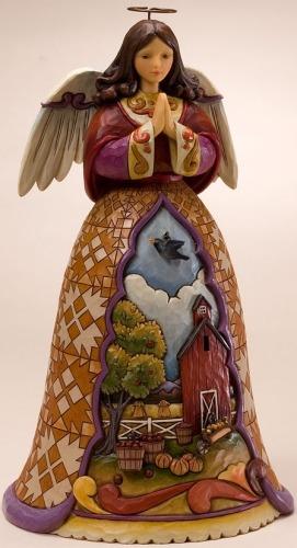 Jim Shore 4021822 Autumn Breezes Cleanse the Spirit Figurine