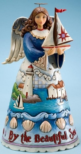 Jim Shore 4021859 By the Beautiful Sea Figurine