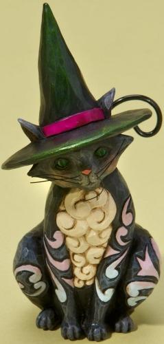 Jim Shore 4022897 Mini Black Cat Figurine
