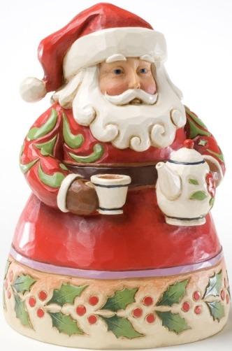 Jim Shore 4022910 Cup of Christmas Cheer Figurine