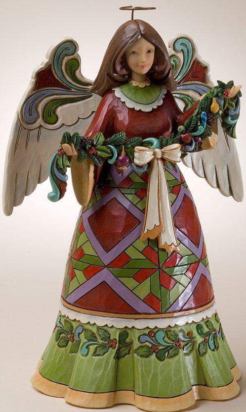 Jim Shore 4023457 Glorious Garland Figurine