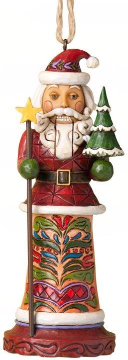 Jim Shore 4025495 Santa Nutcracker Hanging Ornament