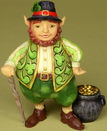 Jim Shore 4025795 Luck of the Wee Folk Figurine
