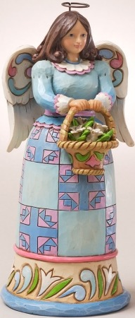 Jim Shore 4025806 Open Your Heart to Easter's Story Figurine