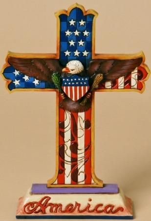 Jim Shore 4025827 God Bless America Figurine