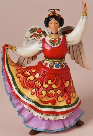 Jim Shore 4025837 Let Your Spirit Dance Figurine
