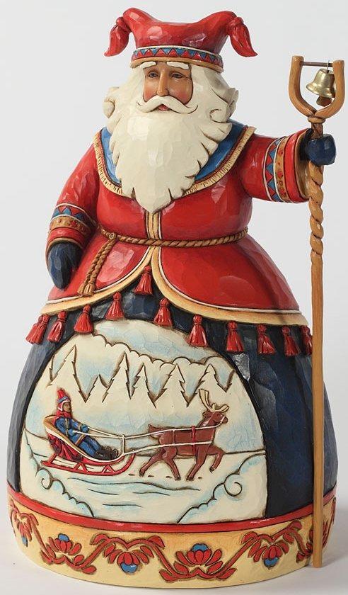 Jim Shore 4025842 Dashing to a Merry Celebration Figurine