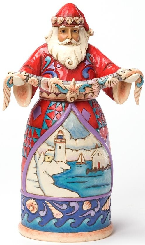 Jim Shore 4025843 Seasons Greetings from the Seaside Figurine