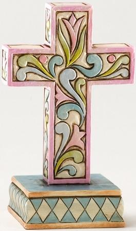 Jim Shore 4025851 Mini Cross Figurine