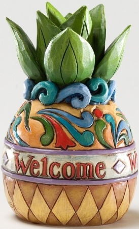 Jim Shore 4025852 Mini Pineapple Figurine