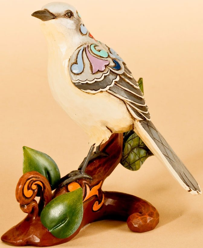 Jim Shore 4026848 Delight in the Sounds of the Mockingbird Figurine