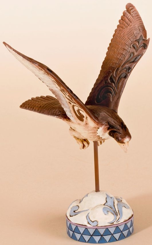 Jim Shore 4026852 When You're Focused Dreams Take Flight Figurine