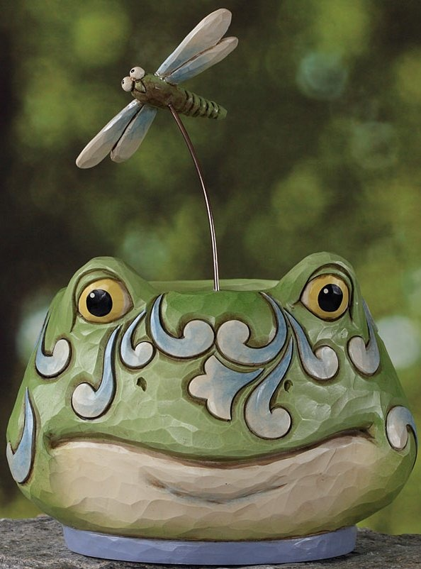 Jim Shore 4026858 Frog Planter