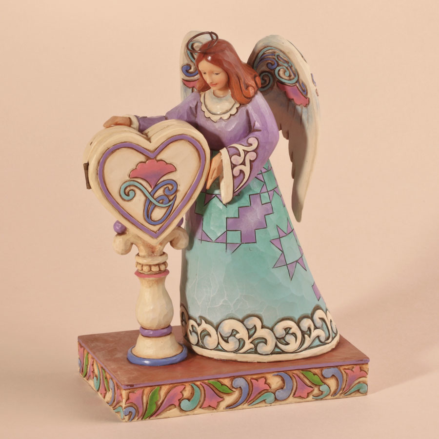 Jim Shore 4026866 You're Loved Angel Figurine