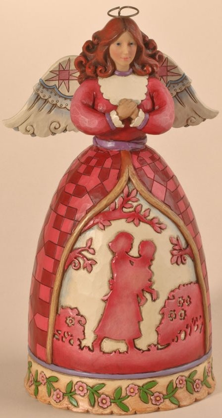 Jim Shore 4026869 A Mother's Love is a Beautiful Blessing Figurine