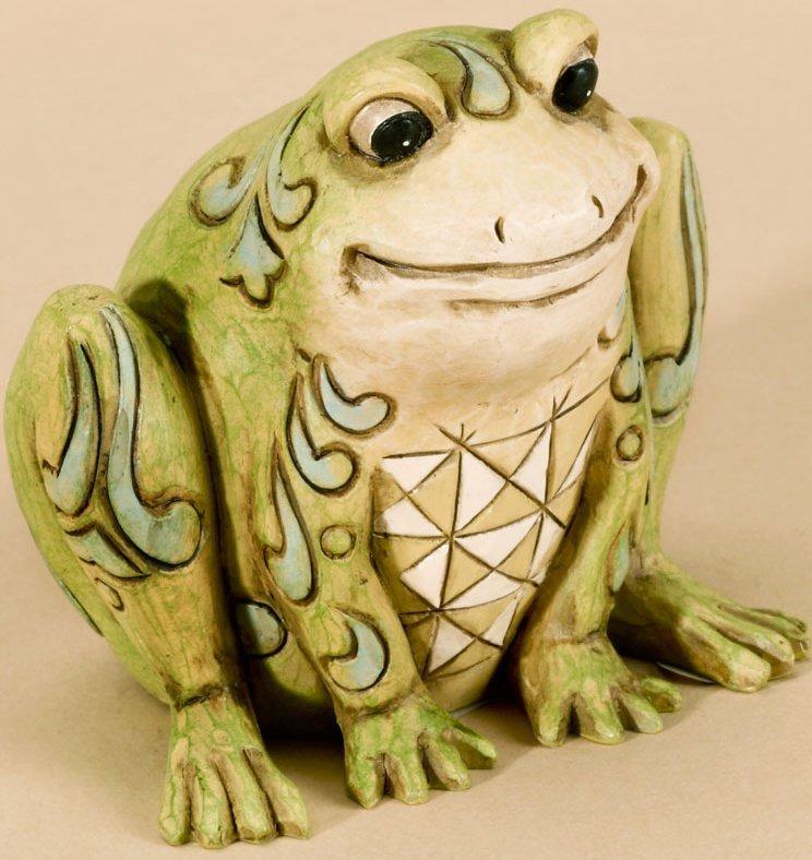 Jim Shore 4026877 Mini Frog Figurine