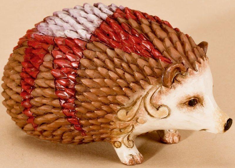 Jim Shore 4026882 Hedgehog Mini Figurine