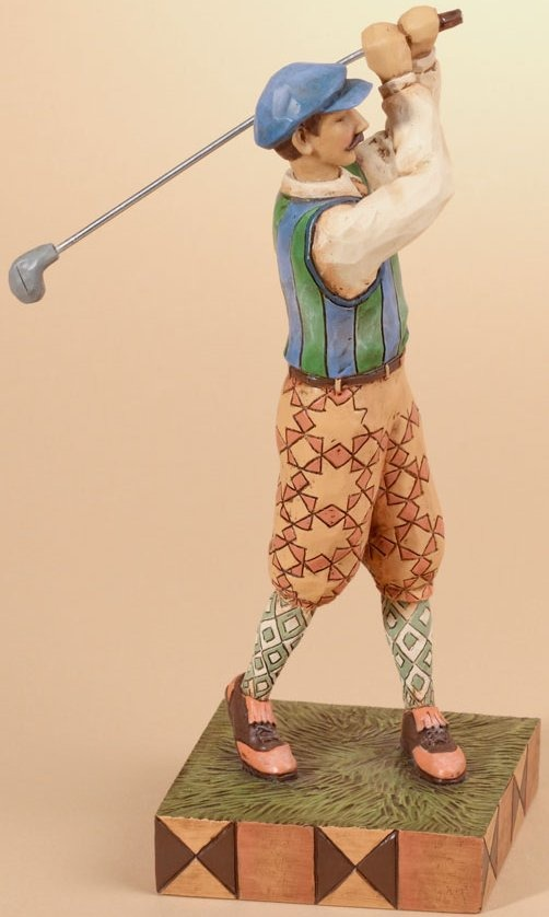 Jim Shore 4026886 Time for Tee Figurine