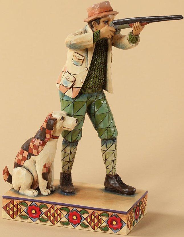 Jim Shore 4026888 Hunter Dog Figurine