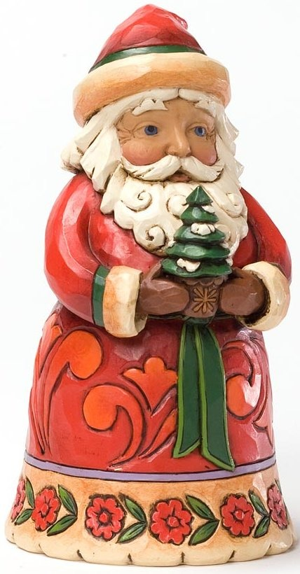 Jim Shore 4027707 Christmas Cheer Given Here Figurine