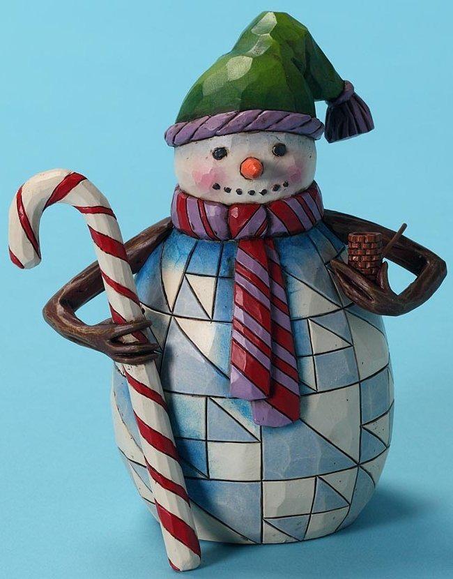 Jim Shore 4027716 Many are the Season's Joys Figurine