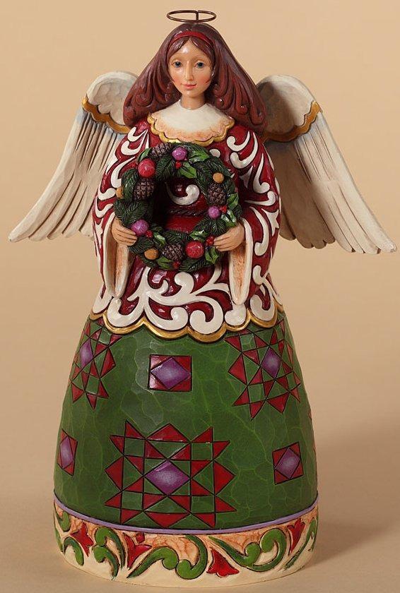 Jim Shore 4027719 Prepare for Christmas Joy Figurine