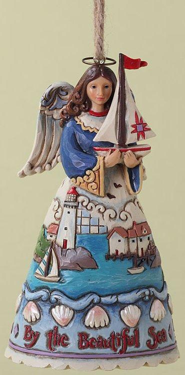 Jim Shore 4027723 Coastal Angel Ornament