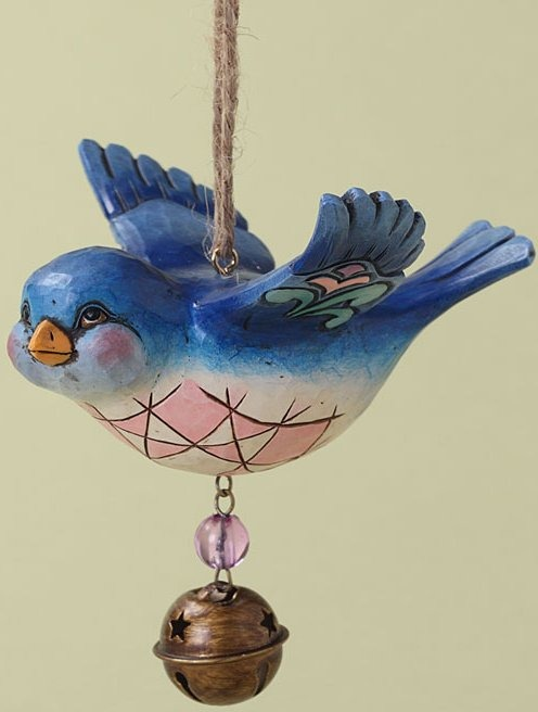 Jim Shore 4027755 Jingle Birds Bluebird Ornament