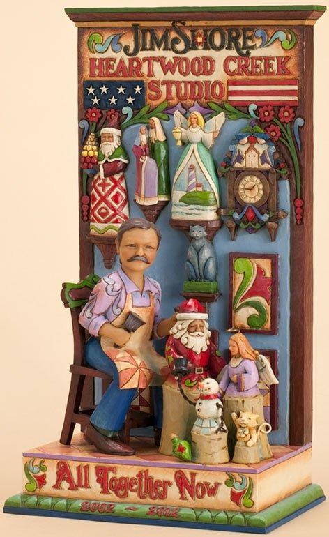 Jim Shore 4027762 10th Anniversary Commemorative Figurine